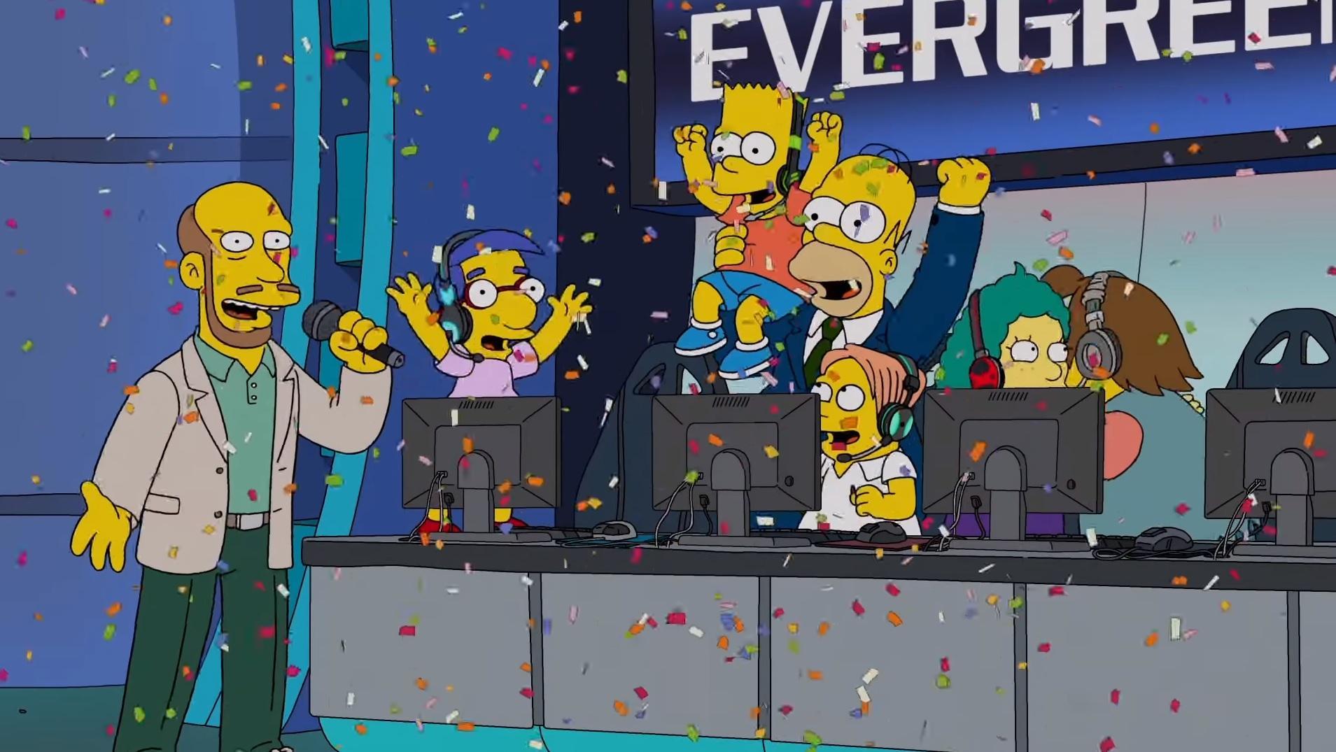 Los Simpson tendrá un episodio dedicado a los eSports y
