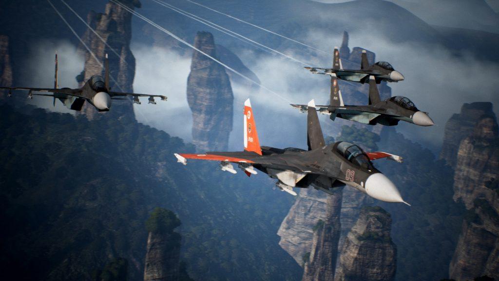 Ace Combat 7: Skies Unknown ya tiene disponible su primer DLC