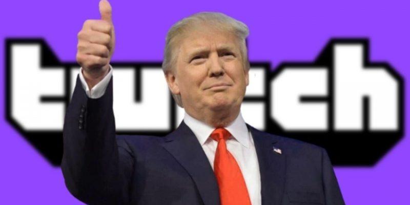 Twitch suspende a Trump