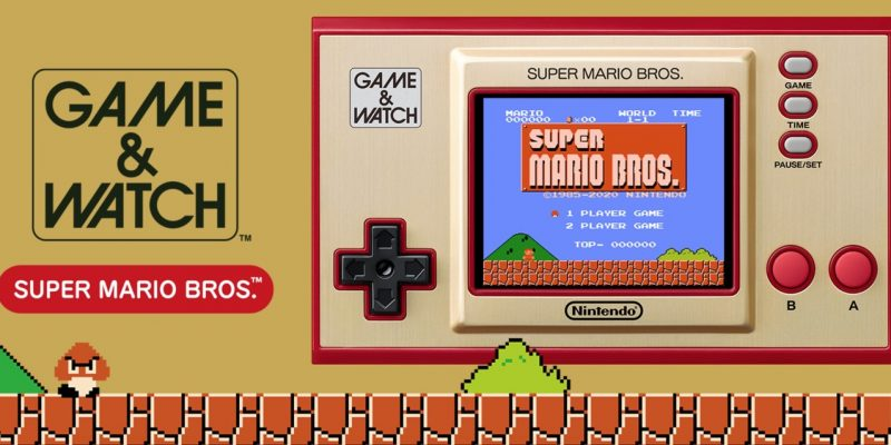 Game Watch Super Mario