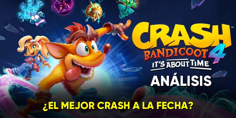 Crash Bandicoot 4 analisis