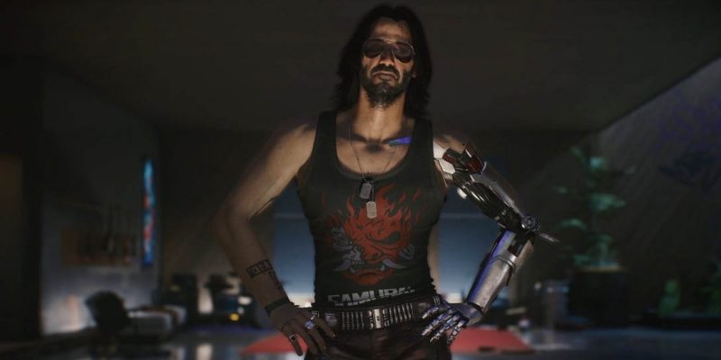 Cyberpunk 2077 Samurai Johnny