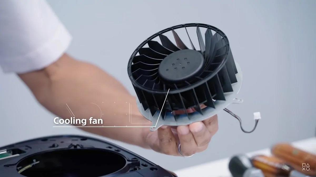 PlayStation 5 ventilador fan
