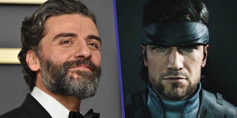 Oscar Isaac Solid Snake