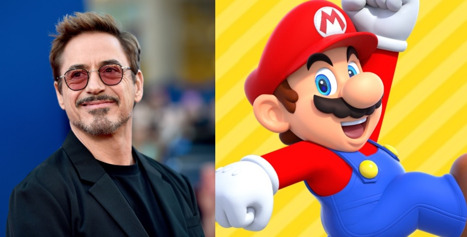 Robert Downey Mario