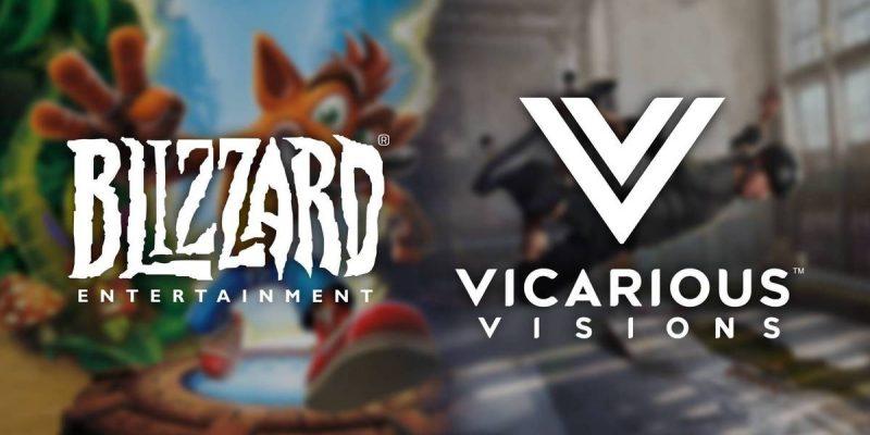 Vicarious Visions Blizzard