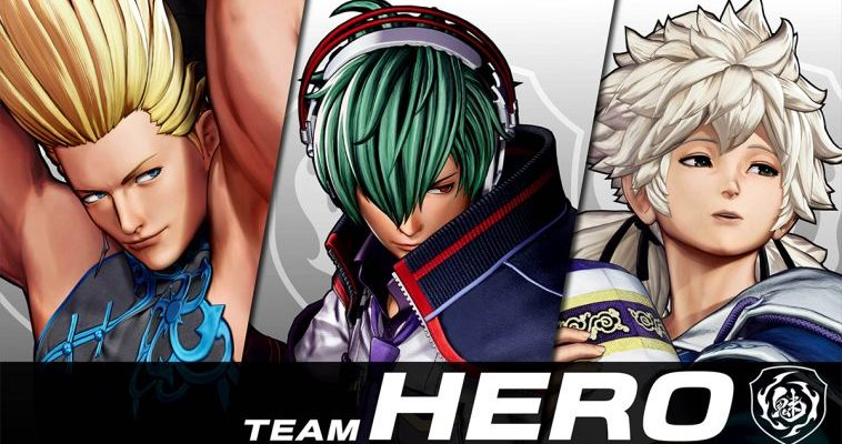 team hero the king of fighters xv