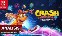 análisis crash 4 switch