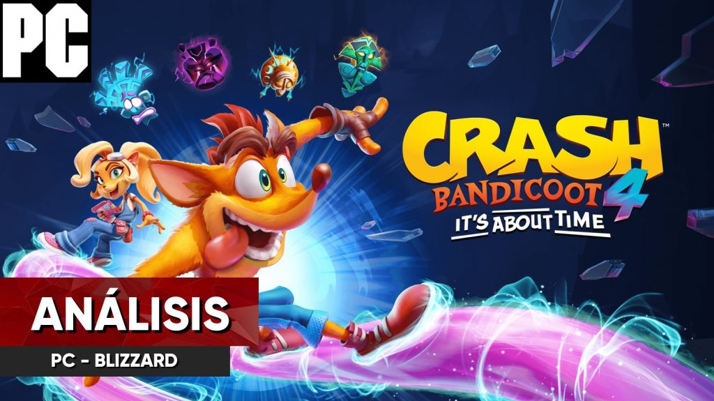 análisis crash bandicoot 4 pc
