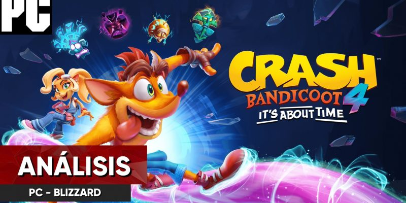análisis crash bandicoot 4 pc