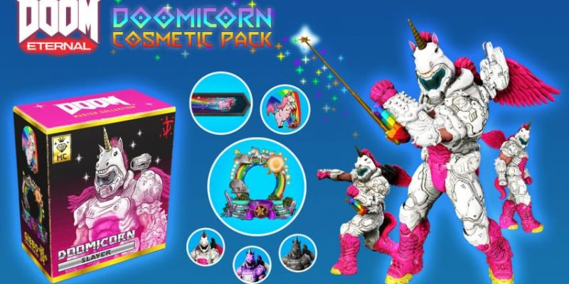 doom eternal skins unicornio