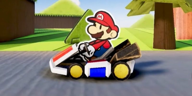 Mario Kart Paper Mario