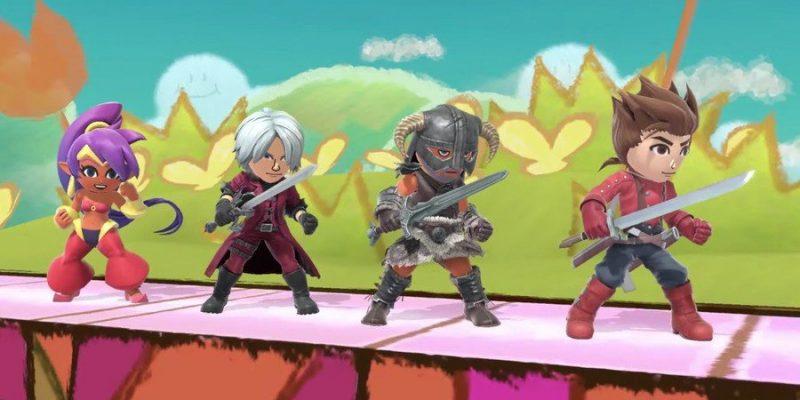 Dante Shantae Super Smash Bros