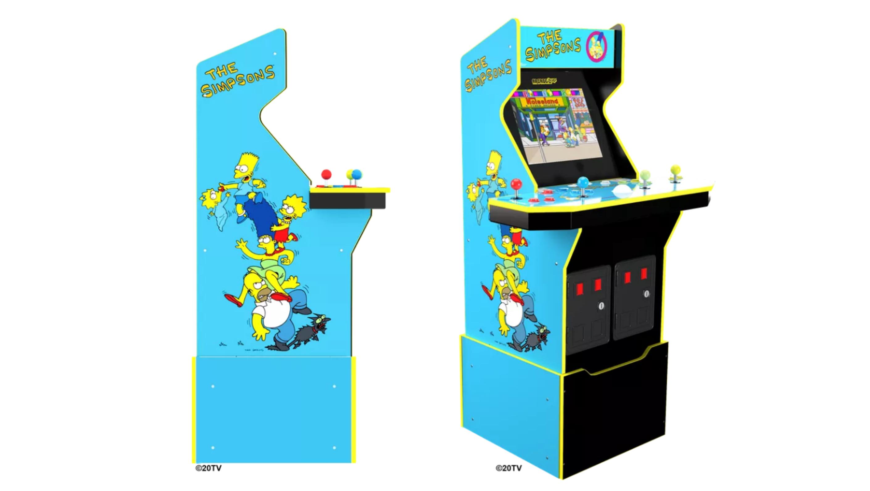 Los Simpson arcade