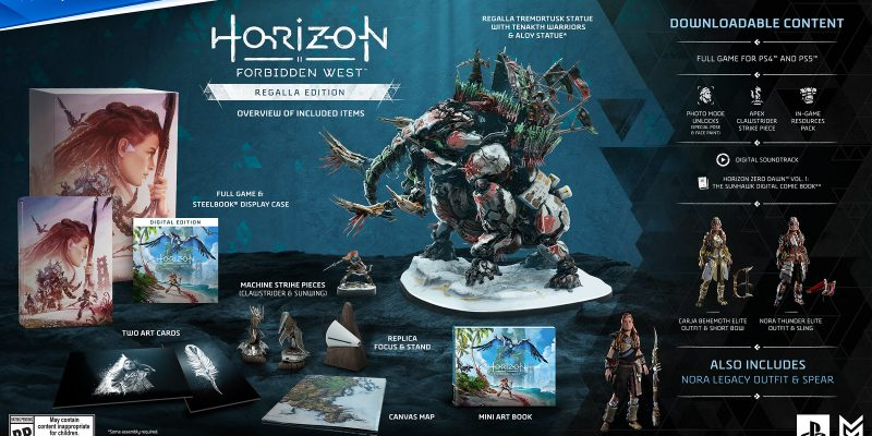Horizon II Forbidden West regalla