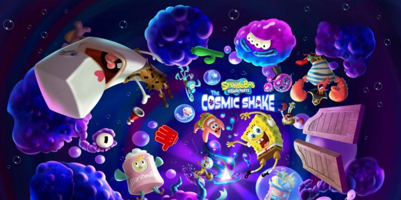 SpongeBob SquarePants The Cosmic Shake Bob Esponja videojuego